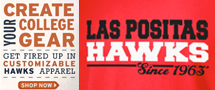 Create Your College Gear - Las Positas Hawks