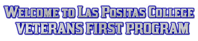 Welcome to Las Positas College Veterans First Program