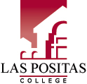 Las Positas College color logo with text.